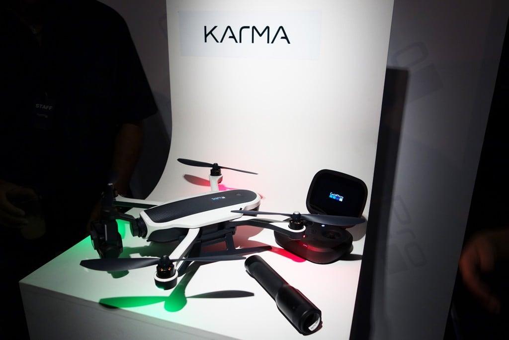 GoProがドローン製品『Karma』と『HERO5』新製品をお披露目 『HERO5 Session』は3万6000円に価格改定