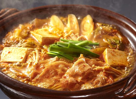 マイルドキムチチゲ用スープ中辛 シズル