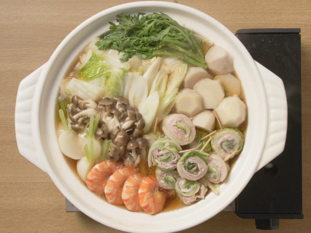 【Mizkan】白菜の一口ミルフィーユ鍋(〆まで美味しい寄せ鍋つゆストレート)