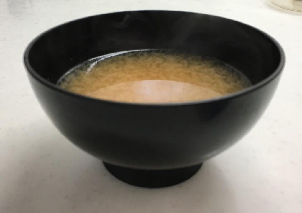 味噌汁完成図
