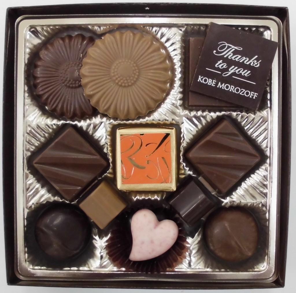 ●モロゾフ プレーンチョコレート