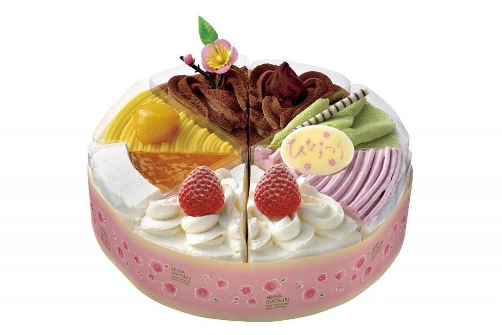ショートケーキ詰合せ