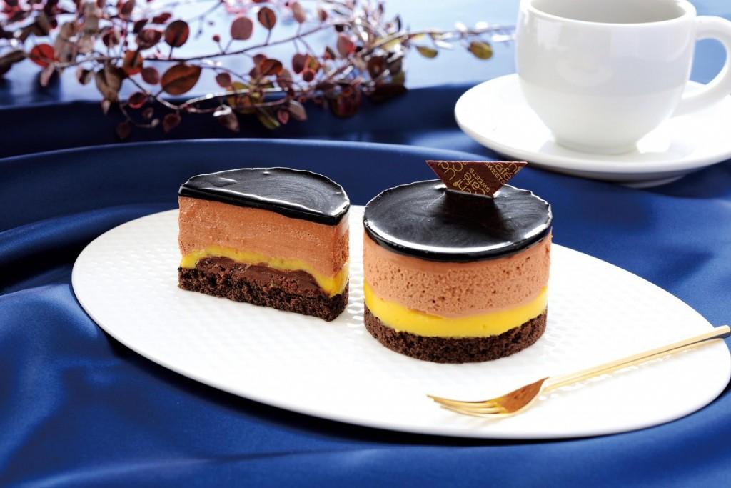 ベルガモット香るチョコレートケーキ