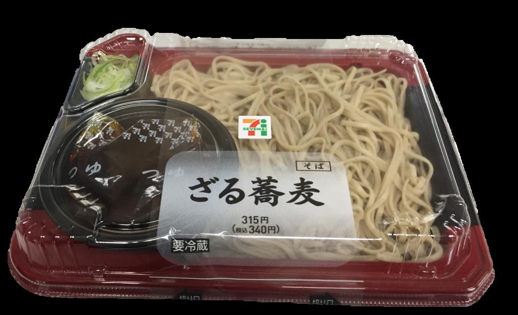 2017年ざる蕎麦