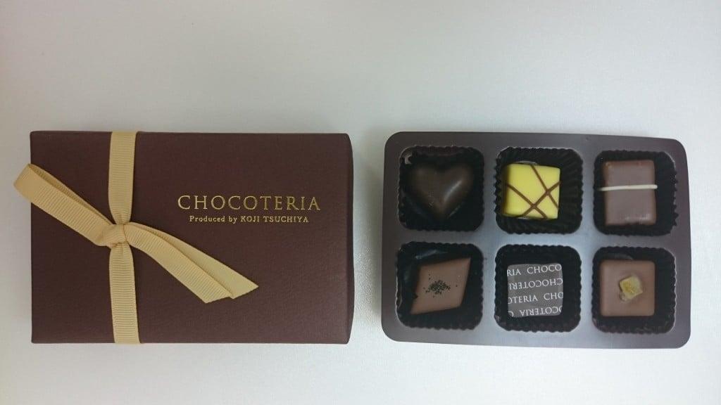 ②ショコテリア Wショコラ6個