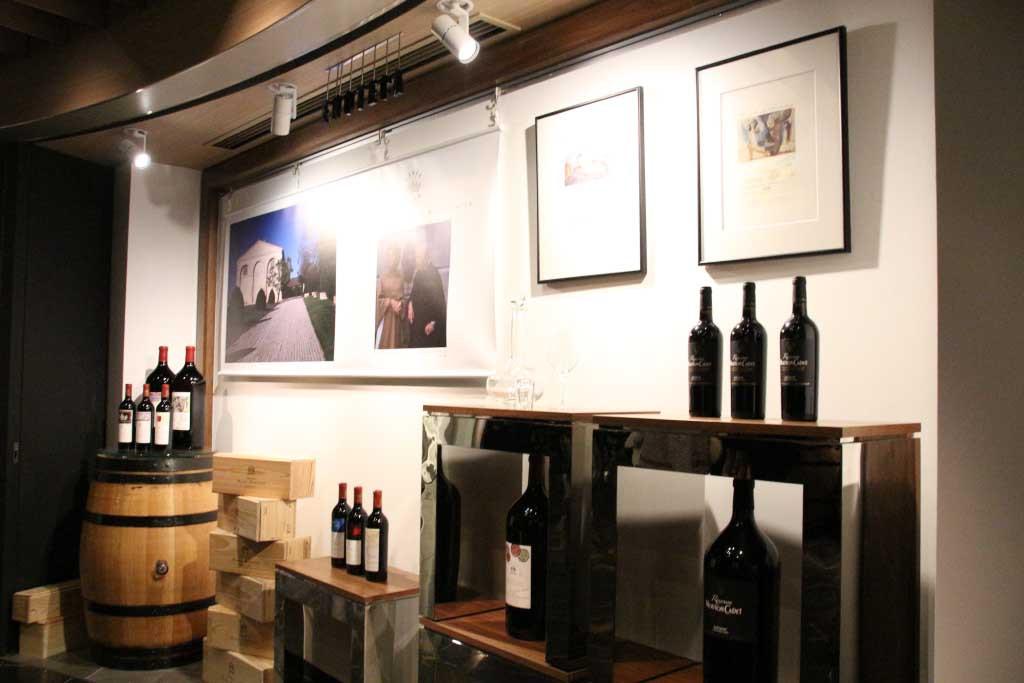 ワイン博物館のようなつくりに