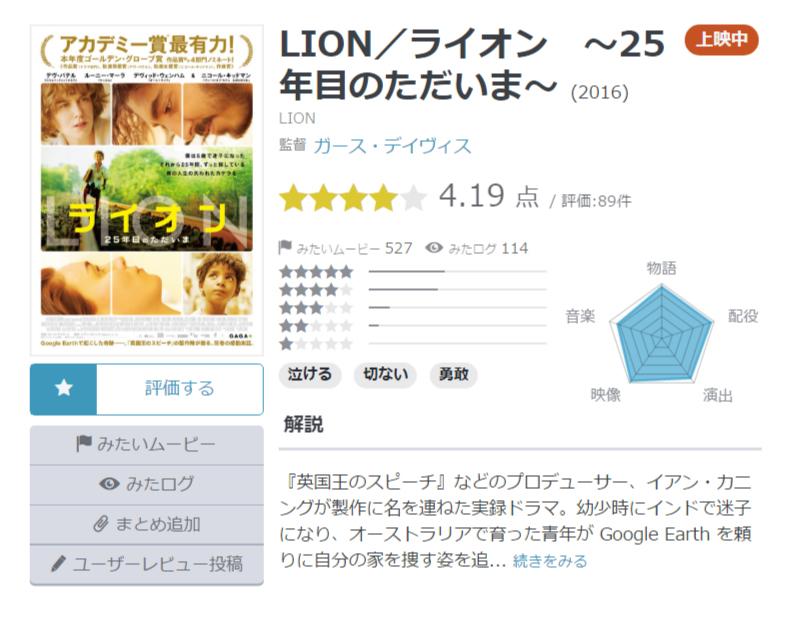 LION/ライオン~25年目のただいま~