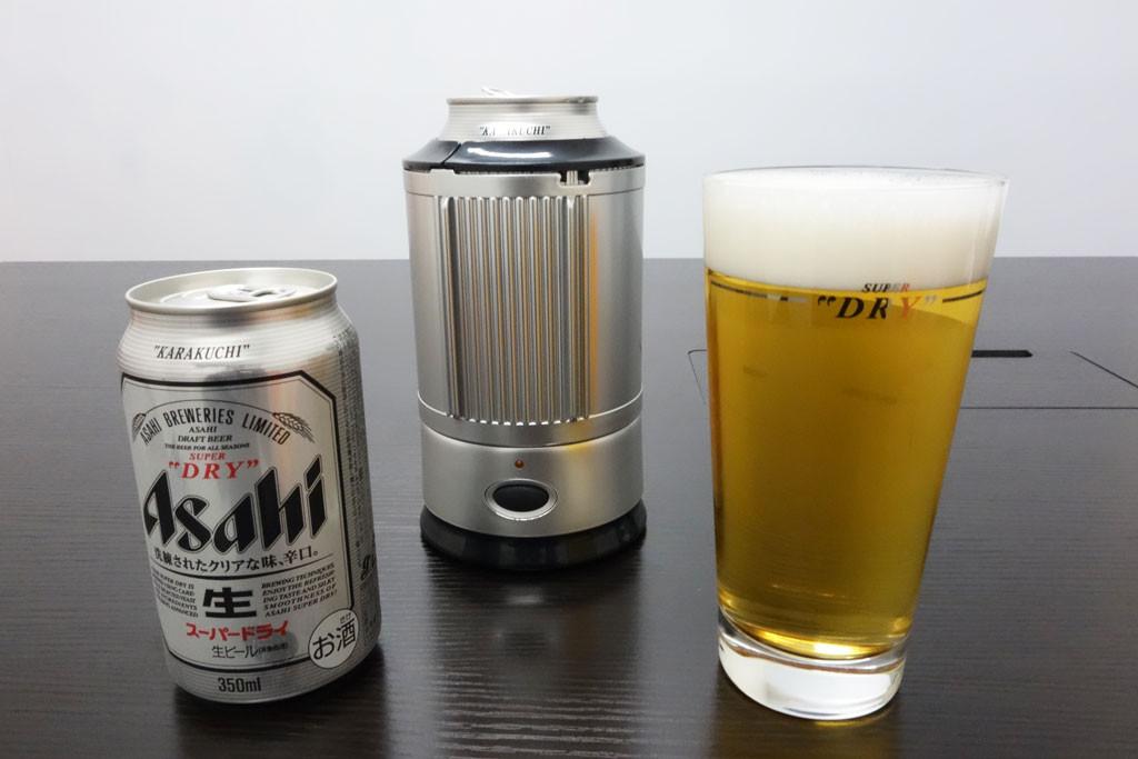 超細かい泡のつめた~いビールが自宅で飲める! 『アサヒスーパードライ』キャンペーンで必ずもらえる『シルキーフォーマー』を使ってみた