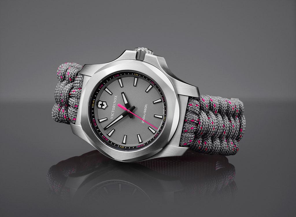ビクトリノックスが腕時計『ビクトリノックス・スイスアーミー』のミディアムサイズモデル『I.N.O.X. V』を5月1日発売へ