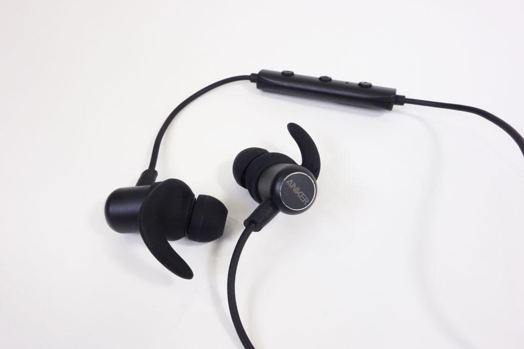 アンカー・ジャパンが約7時間の連続再生可能な防水Bluetoothイヤホン『Anker SoundBuds Slim』を発売