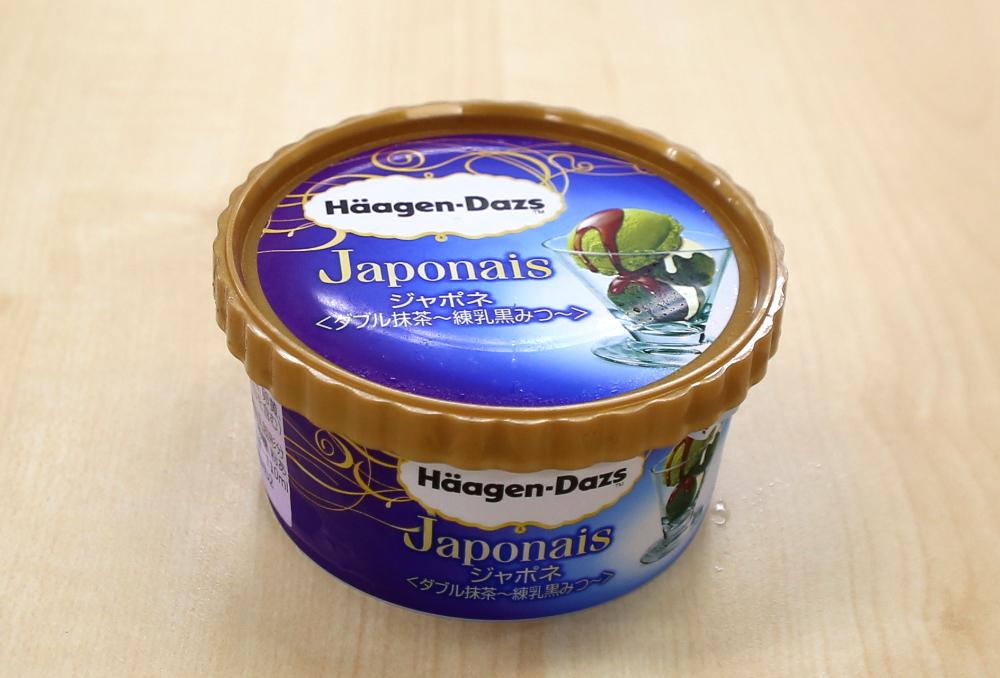 『ジャポネ<ダブル抹茶~練乳黒みつ~>』