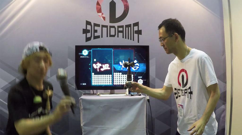 【動画】スマホアプリと連動するスマートけん玉『電玉』