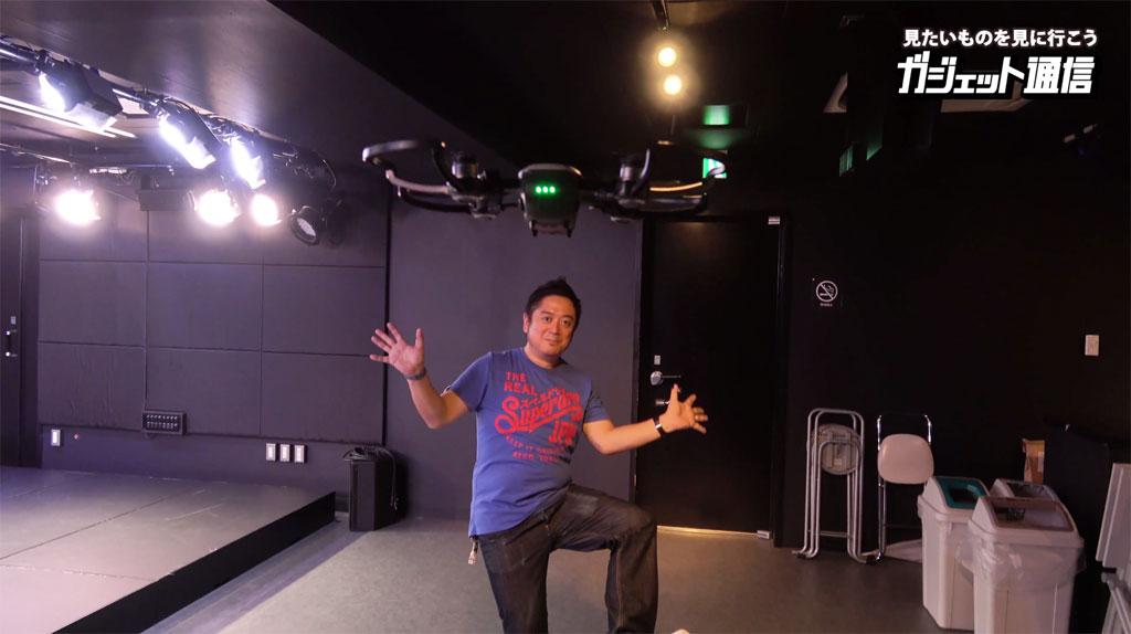 コンパクトドローン『DJI Spark』のジェスチャー操作でセルフィー動画が撮影可能に そのジェスチャーとは?