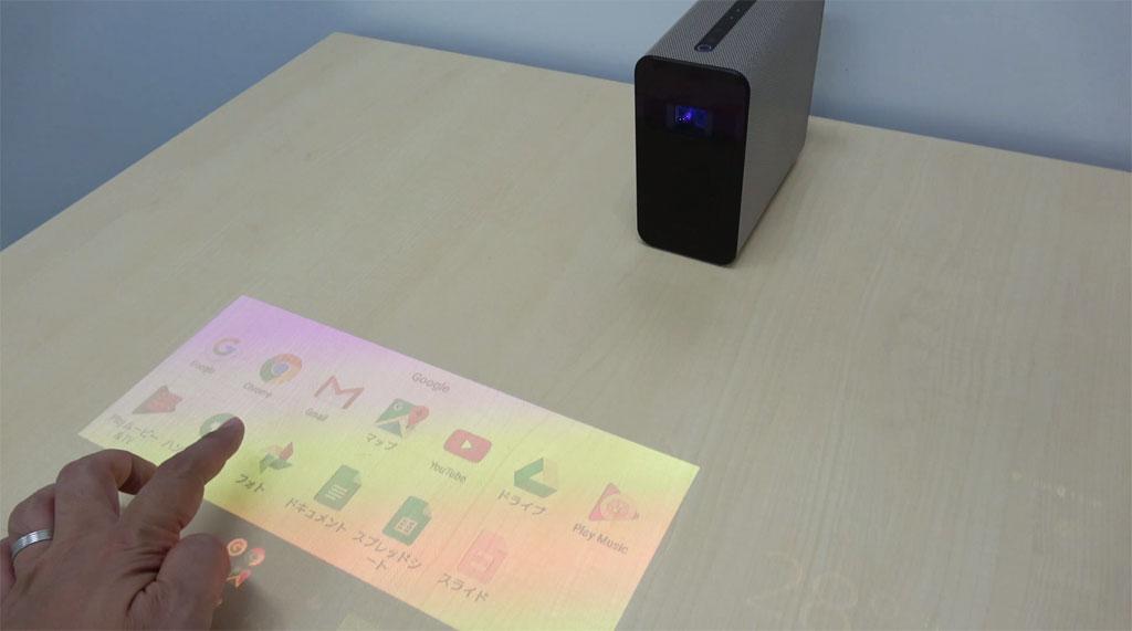 【動画】テーブルや壁がタブレットになるスマートプロジェクター『Xperia Touch』は音声アシスタント端末としても活躍しそう