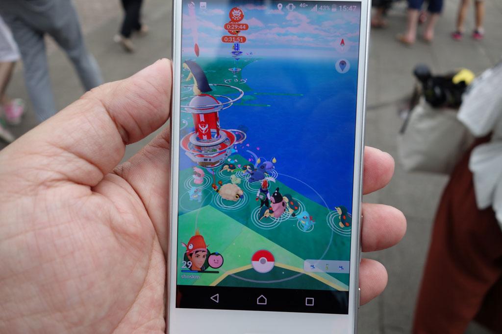 バリヤードはゲットできるのか 横浜で開催中の『ポケモン GO PARK』に行ってみた