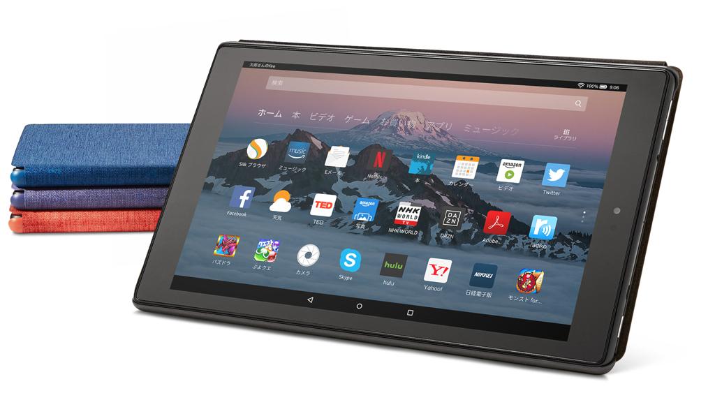 Amazonが『Amazon Fire HD10』タブレットを発表 32GBモデルがプライム会員なら1万4980円