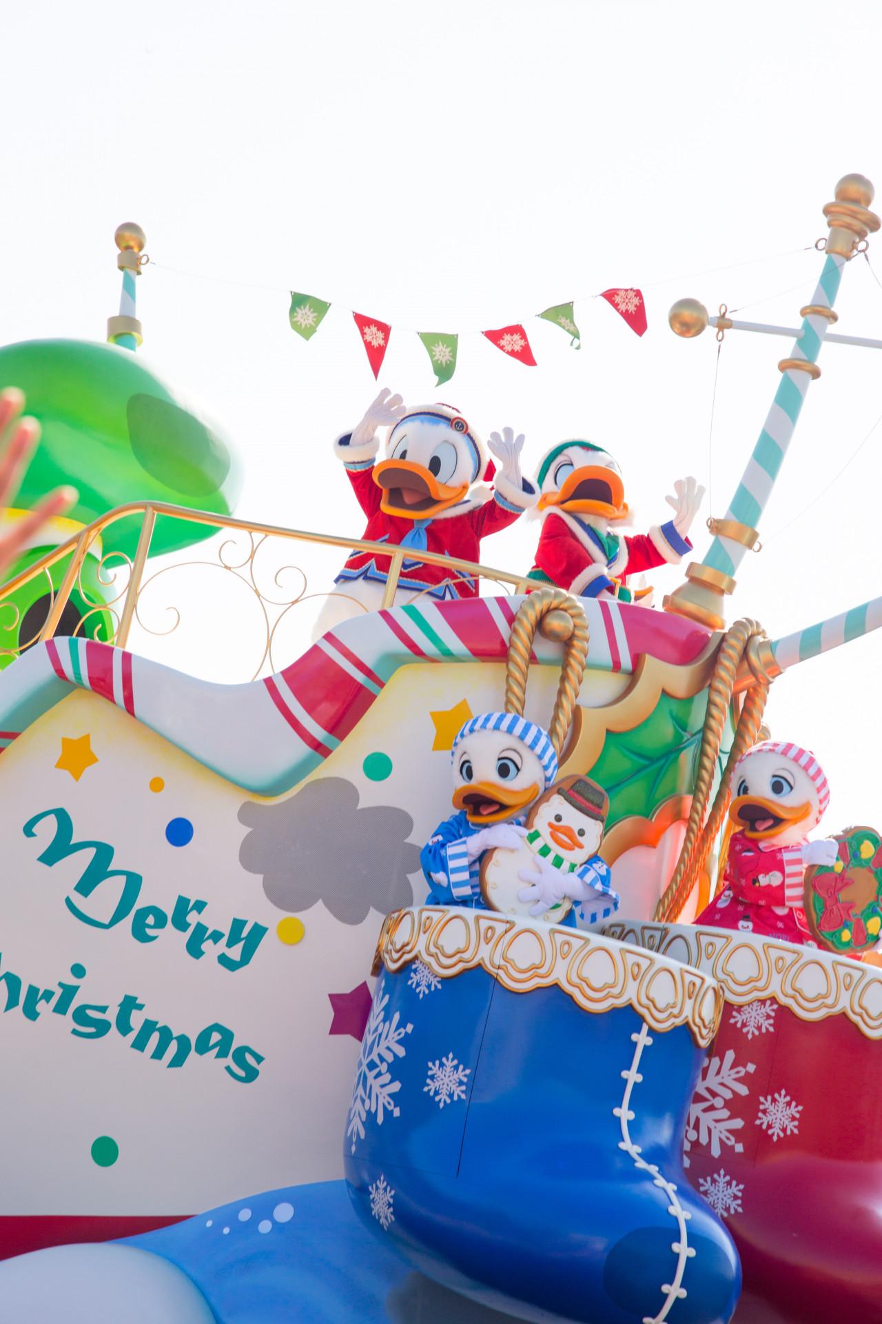 写真でみるディズニー・クリスマス(谷口彩菜)