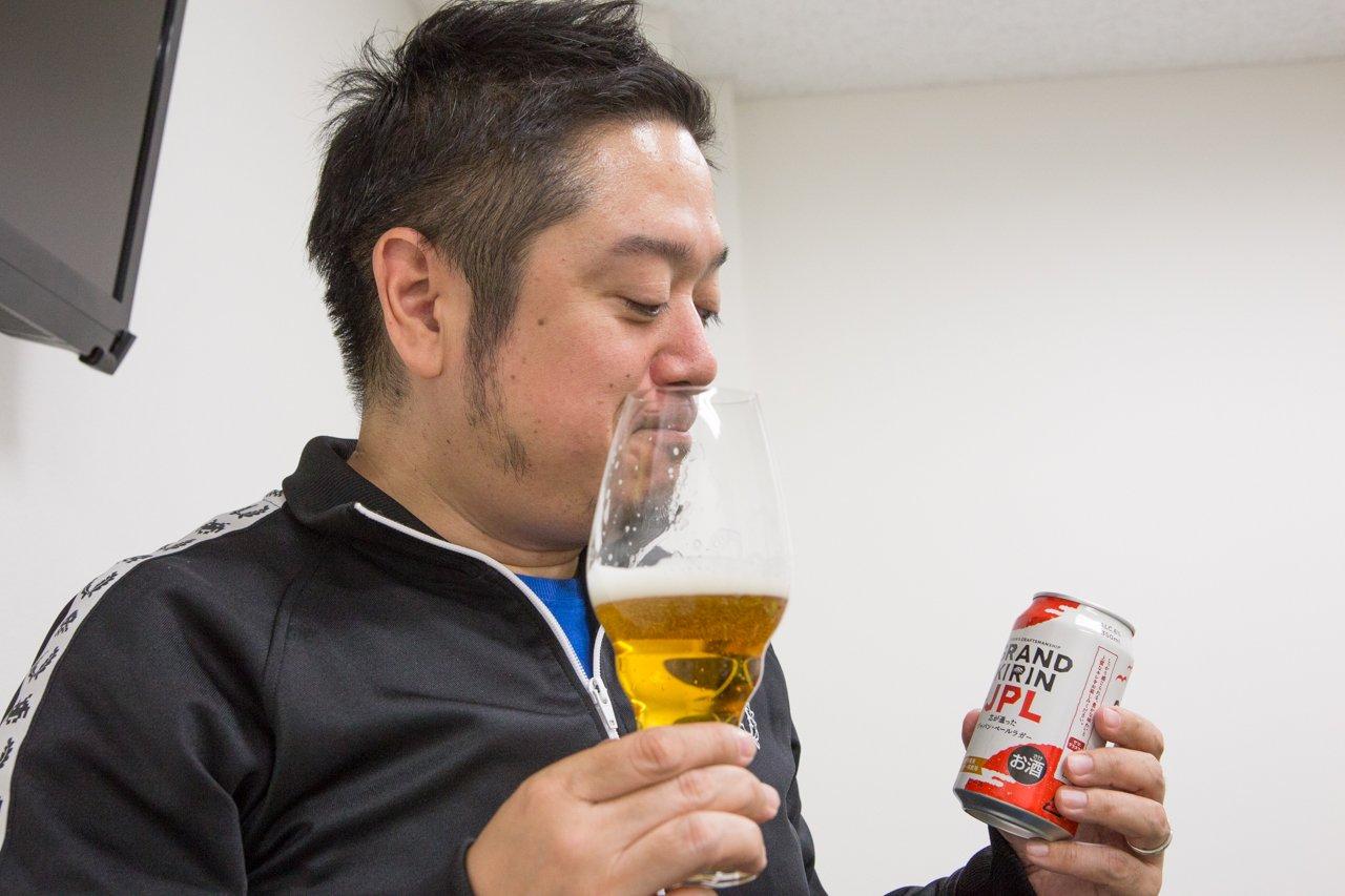 缶でも発売した『グランドキリン』を専用グラスで飲んだらウマすぎた