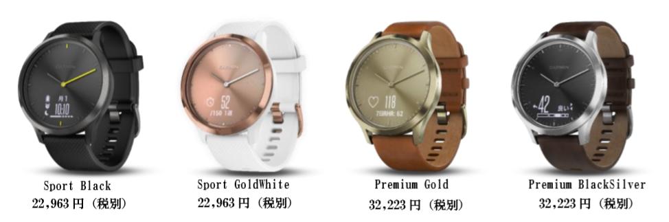 ガーミンジャパンが心拍計付きのアナログ時計型活動量計『vivomove HR』を12月27日に発売へ