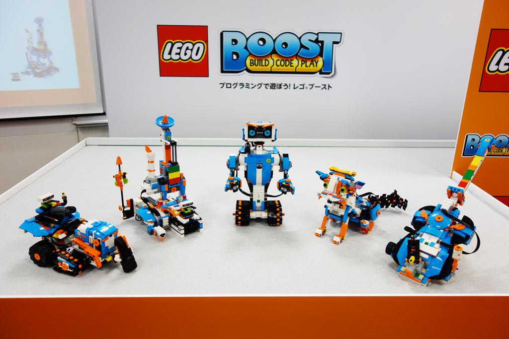 ロボットや子猫など5種類のモデルを作って操作 ブロック+プログラミングで遊べる『レゴ ブースト クリエイティブ・ボックス』が2月1日発売へ