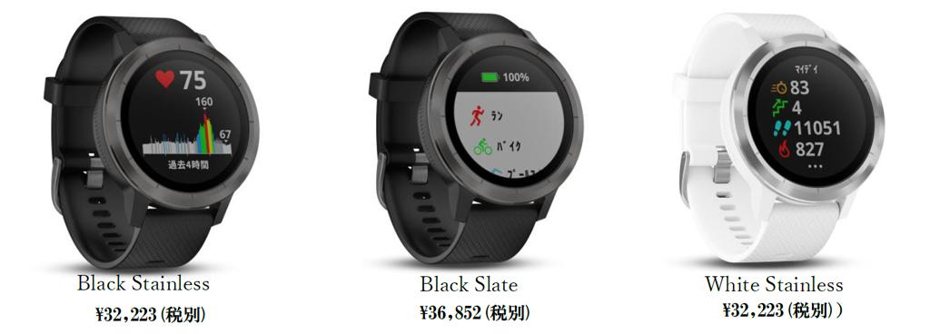 ガーミンジャパンが多彩なスポーツアプリ搭載のリストバンド型活動量計『vivoactive 3』を1月25日に発売へ