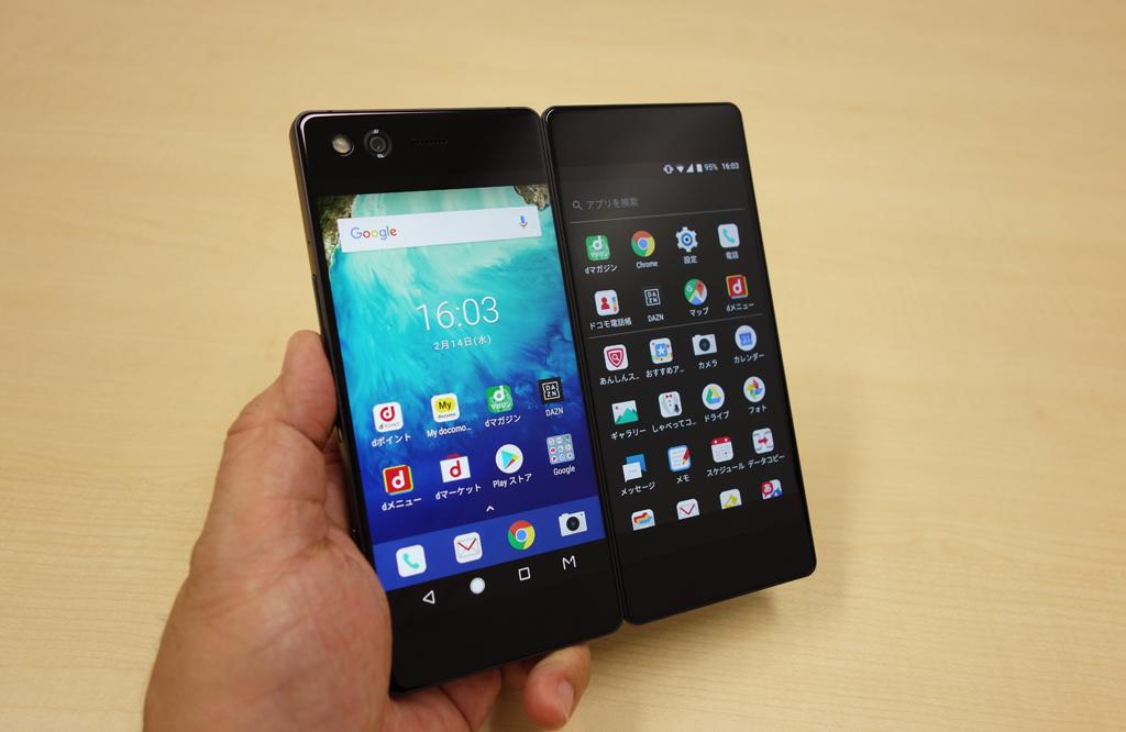 """ドコモの2画面スマートフォン『M』レビュー """"通話できるタブレット""""を超えたポテンシャルを持つ変態端末"""