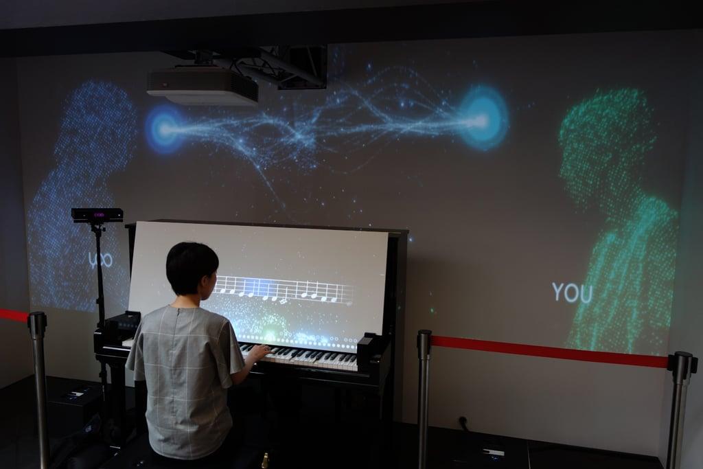 銀座へ行ったらAIと一緒にピアノを弾こう 初心者でも合わせて伴奏してくれる『Duet with YOO』体験イベントがヤマハ銀座ビルで開催中