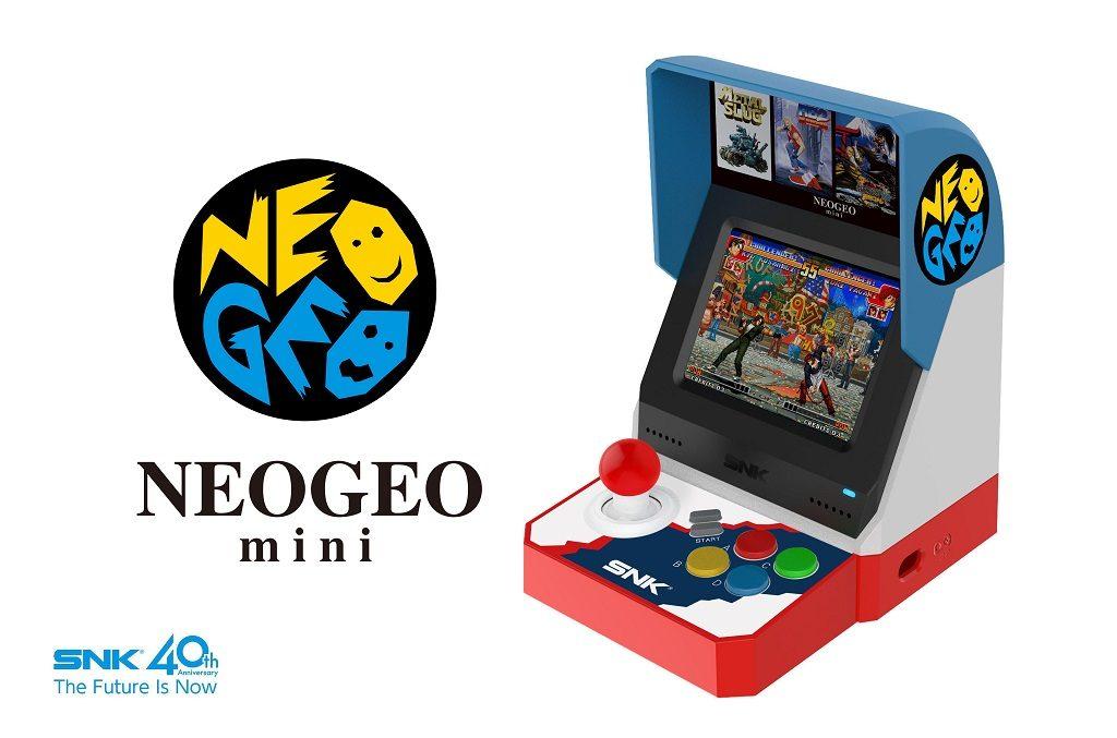 3.5インチ液晶付きの『NEOGEO mini』発売へ 内蔵の全40タイトルに『メタルスラッグ』や『KOF '98』も収録か