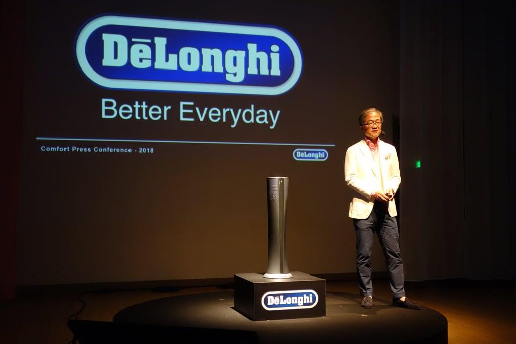 涼風・温風のやさしい風で1年中使える デロンギが空気清浄機能付きファンを発売