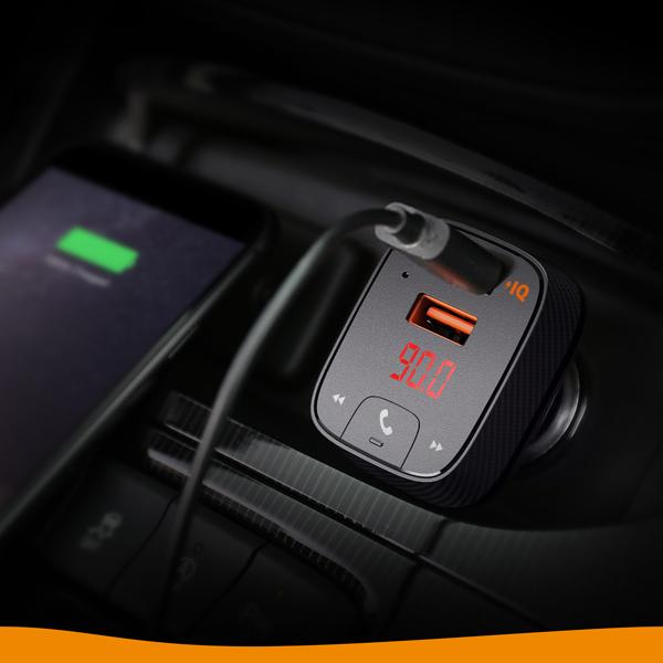 スマホの音楽をカーステレオで アンカーがFMトランスミッターにもなる2ポートカーチャージャー『Anker Roav FM Transmitter F2』を発売