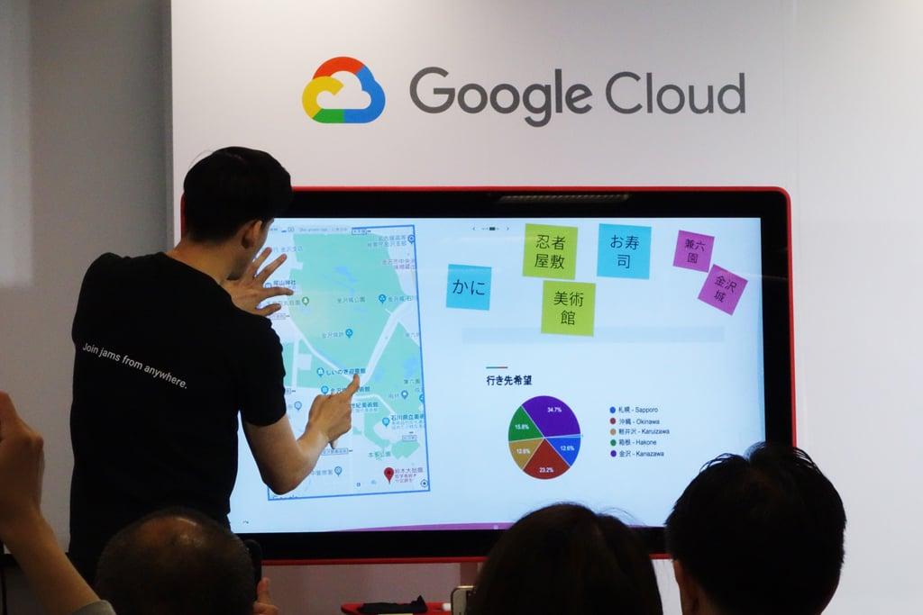Googleがクラウドと連携するデジタルホワイトボード『Jamboard』を発売 『G Suite』ユーザー向けに本体とソフトウェアライセンスを提供