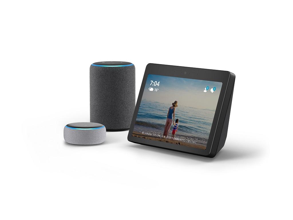 10.1インチディスプレイ搭載『Echo Show』を含むスマートスピーカー『Amazon Echo』シリーズ新製品がAmazonで予約受付を開始
