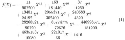 多項式(1)