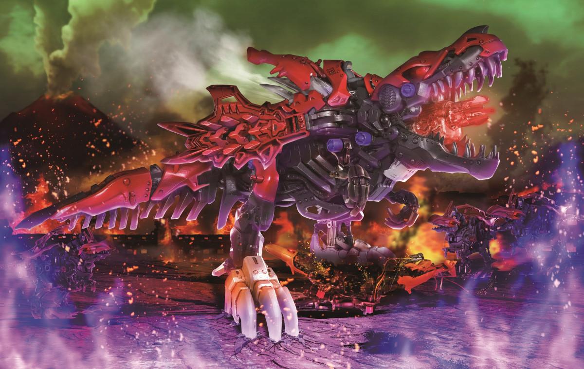 『ゾイドワイルド』2種類のワイルドブラストを放つ『ハンターウルフ』12月発売! 牽引キャリア付き『キャタルガ』も