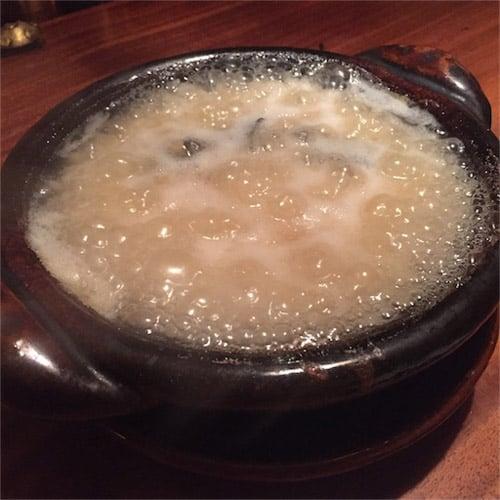 すっぽんの雑炊