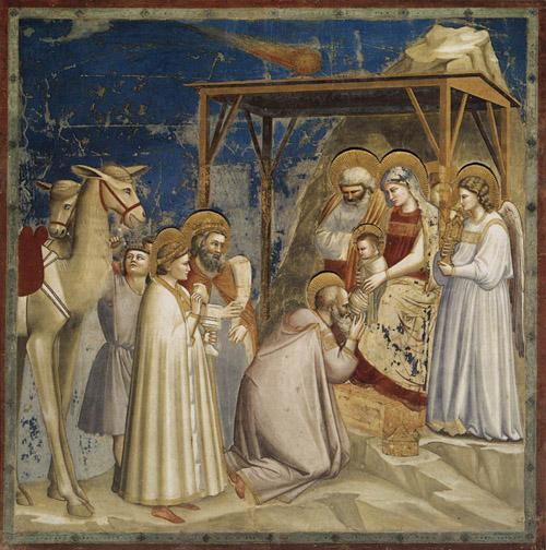 ジョット(1267~1337)の『東方三博士の礼拝』
