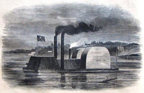 ハリボテで戦艦の救出