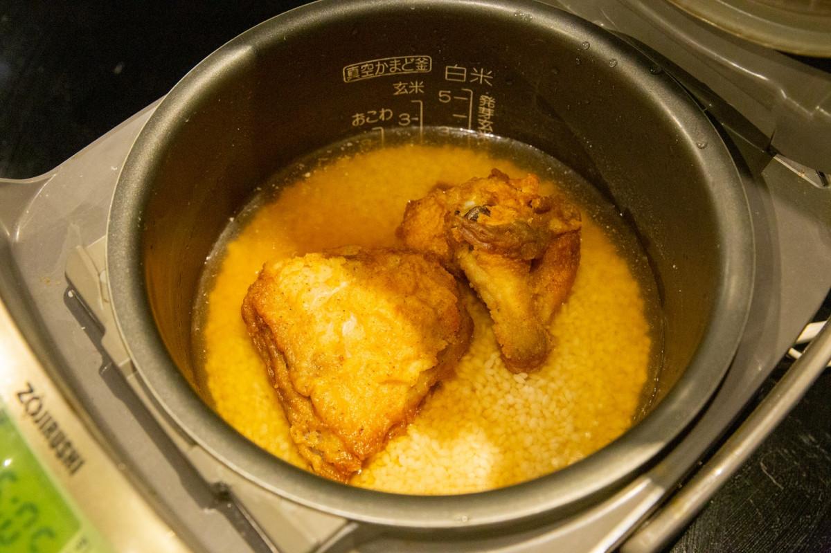 KFCオリジナルチキンの炊き込みご飯が全ての鶏好きを笑顔にする