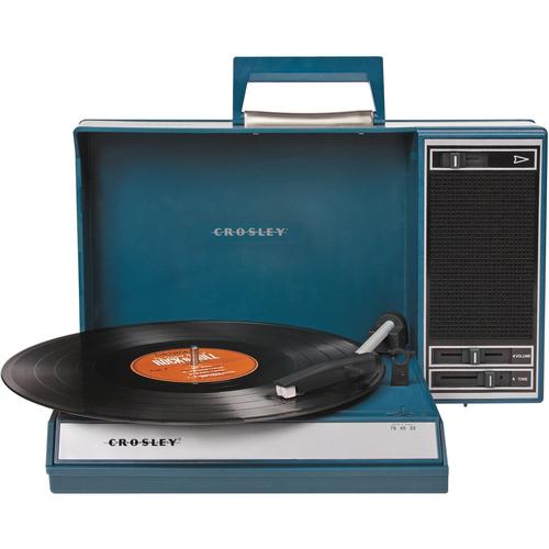 Crosley Spinnerette USBレコードプレーヤー Teal(青緑)