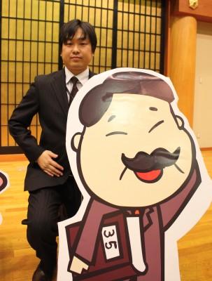 三浦部長というキャラは、実在する三浦氏がモデルとのこと