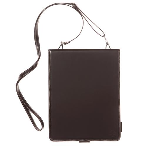 iPad用ショルダーレザーケース