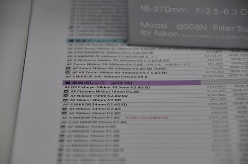 旅レンズ寸評:TAMRON 『B008 18-270mm f/3.5-6.3 VC PZD』