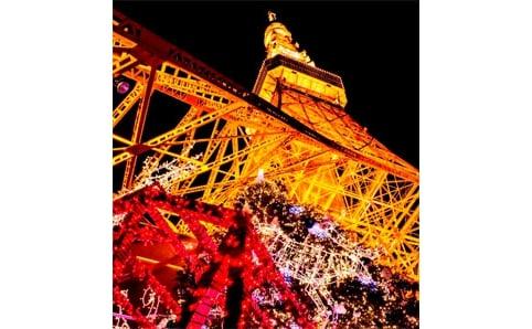 東京タワークリスマスイルミネーション 2012