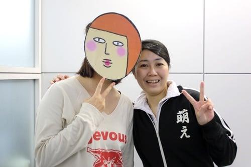 実況者:金田淳子、竹内佐千子