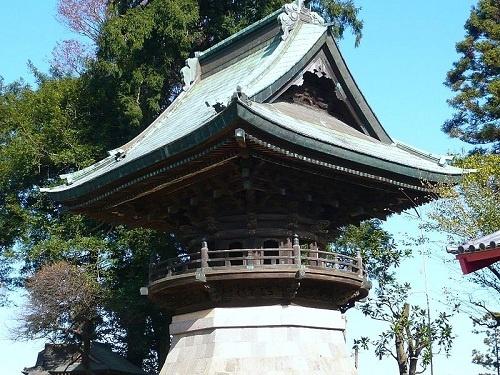 布施弁天東海寺鐘楼(千葉県重要文化財)