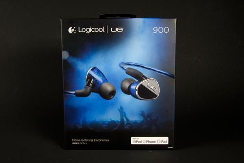 Ultimate Ears 900(UE900)(Logicool)フォトレビュー