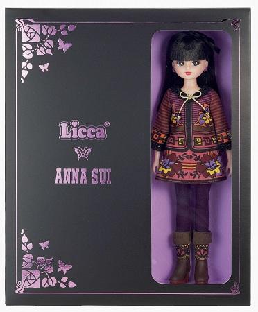 ANNA SUI×リカちゃん コラボレーションBOX