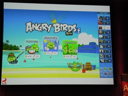 『Angry Birds』を開発するRovio Entertainmentが登壇