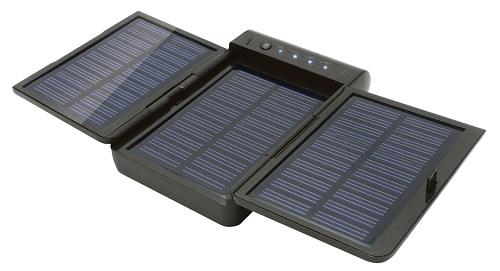 携帯機器用大容量ソーラーチャージャーaigo『I2911』
