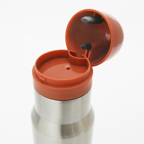 弾丸型のマグボトル『AmmOMug』(シルバーホローポイント)